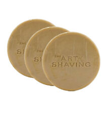 Nos Tallow The Art Of Shaving Sandalwood Soap Refill Pack Of 3 Gift Bag Unboxed