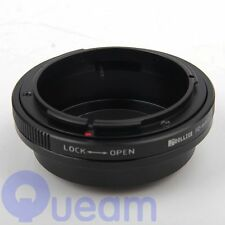 Canon FD Lens to Micro Four Thirds m4/3 Adapter Panasonic Olympus PEN