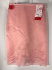 SPANX Skinny Britches Sheer Shaping Power Skort Gloss Pink NWT size Small #1019