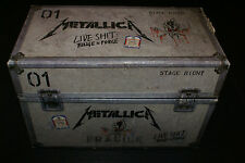 Metallica Live Shit Binge and Purge Box 3 VHS Booklet Pass Stencil (No CD's) OOP