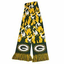 """Green Bay Packers Scarf Knit Winter Neck NEW 65"""" - CAMOUFLAGE Camo - 2013"""