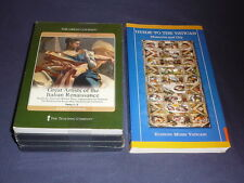 Teaching Co Great Courses DVD   GREAT ARTISTS of the ITALIAN RENAISSANCE + bonus