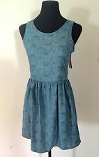 AUTH BNWT TEEN VOGUE CULTURE MIX BALLET BAR 2 LADY WOMEN'S DRESSES SZ M $42