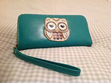 Large turquoise owl purse or small bag,popular ladies gift idea,Mother's Day