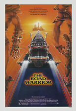 1980's Sci-Fi  * Mad Max 2: Road Warrior *  Mel Gibson Movie Poster 1981 24 x 36
