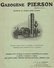Y9633 GAZOGENE PIERSON - Pubblicità d'epoca - 1913 Old advertising
