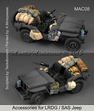 Mantis Miniatures 1/35 LRDG/SAS Jeep Accessories Set for Tamiya 35219 kit