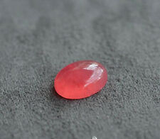 Top Quality Natural Ice Rose Rhodochrosite Gemstone Cabochon Ring AAAA