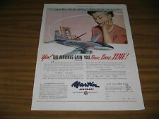1948 Print Ad Martin 2-0-2 Airliners Airplanes Baltimore,MD