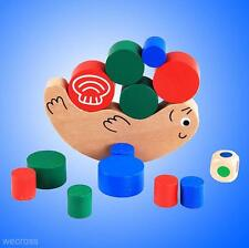 Hot! Kids Baby Building Blocks Snail Balance Stacking Game Wooden Toy Child Gift