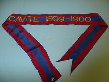 st320 Philippine Insurrection US Army Flag Streamer CAVITE 1899-1900