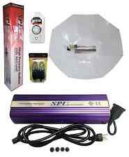 SPL 1000W Watt HPS Grow Light System Set Kit Parabolic Horizontal Reflector
