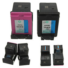 2x Combo Pack Ink Cartridge Black + Color For HP 61XL DeskJet 1050 2050 3050 New