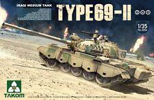 Takom 1:35 Scale Iraqi Type 69 II Medium Tank Plastic Model Kit 2054
