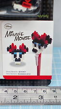 Japan Made Disney Minnie Mouse Pen + Nano Block - Kawada  ... h#6