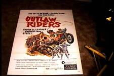 OUTLAW RIDERS ORIG MOVIE POSTER 1971 BIKER