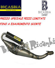 STOCK - 33013KS - MARMITTA ARROW KOMPRESS CARBY PIAGGIO 50 FREE ZIP - FAST RIDER