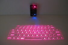 Bluetooth Wireless Laser Projection Virtual Keyboard Portable Full-Size Keypad