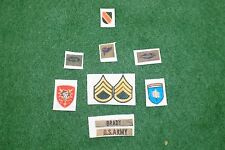 1/6 US 5th Special Forces Group Green Beret Vietnam patch set