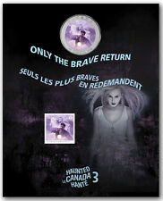 2016 Haunted Canada Series Bell Island Lenticular 3D 25 cent Coin Stamp Gift set