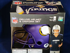 MINNESOTA VIKINGS Halloween Costume - KIDS Medium DELUXE YOUTH UNIFORM SET