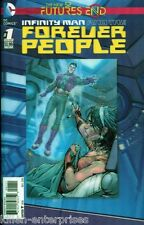 Infinity Man and the Forever People Future's End #1 One-Shot 3D Cover Comic Book