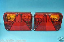 FREE P&P* 2 x Radex 6400 Rear Trailer Lamps LH & RH
