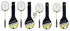 Browning Nanolite badminton rackets (2 x Junior/2 x Adult) + 3 Shuttles RRP £160
