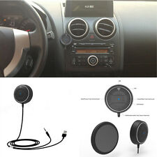 Mini 3.5mm AUX Input Hands Free Wireless Bluetooth Car SUV Speaker Phone Mobile