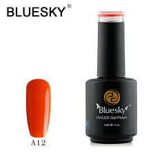 Bluesky Soak Off UV LED Gel Nail Polish Rusty Burnt Orange A12