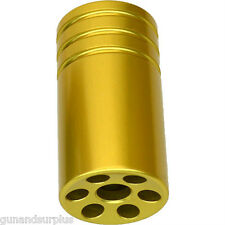 Ruger 10/22 22/45 Muzzle Brake Compensator Threaded 1/2-28 TPI 1022 GOLD  D6