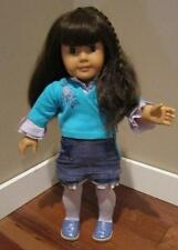 AMERICAN GIRL DOLL PLEASANT COMPANY SAMANTHA IN RETIRED STAR FLOWER OUTFIT