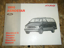 1990 FORD AEROSTAR ELECTRICAL VACUUM TROUBLESHOOTING SERVICE MANUAL