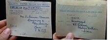 Thailand 1945 Ex POW letter to Java with message (19bek)