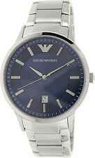 Emporio Armani Men's Classic AR2477 Silver Stainless-Steel Analog Quartz Watch