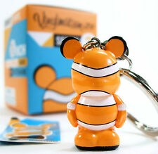 "Disney VINYLMATION JR SERIES 2 NEMO Keychain 1.5"" Vinyl Figure Color Block NEW"