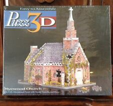 Wrebbit Puzz 3D Puzzle Nyewood Church 2 Church Street Cottage Church New Sealed