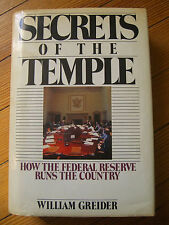 Secrets of the Temple:How the Federal Reserve Runs the Country,1st Ed/Greider-87