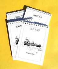 RNLI Lifeboat pack of 4 Small A6 Note Pads Gift Set