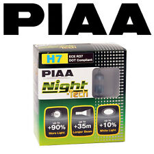 NEW! PIAA NIGHT TECH H7 BULBS MORE WHITE LIGHT 55W = 125W!