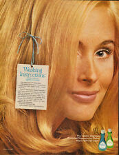 1969 Vintage magazine ad for Clairol Shampoo/Colorfast/Pretty Blonde (050413)