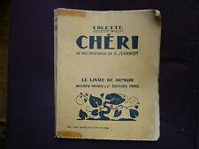 CHERI  :collection le livre de demain COLETTE