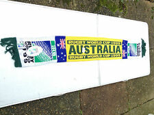 Australia Rugby Union World Cup 1999  Official Licensed  IRB  Vintage Scarf