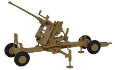 Oxford Diecast Bofors 40mm Gun Light Stone (Desert) 1:76 New & Boxed
