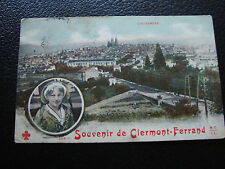 FRANCE - carte postale 1909 souvenir de clermont-ferrand (cy69) french