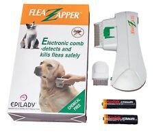 Electronic Electric Pet Cat Dog Safe Flea Zapper Comb Kills Fleas New