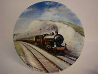 BRADEX & DAVENPORT POTTERY GREAT STEAM TRAINS SOUTHERN BELLE PLATE