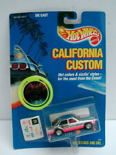 Hot Wheels MOC California Custom Chrome * Mercedes 380 SL * 1989