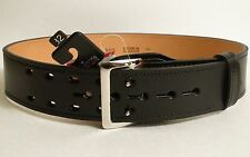 """Gould & Goodrich F/LB59-32 2 1/4"""" Lined Duty Belt Removable Nickel Buckle 32"""""""