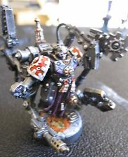 40K Space Marines Grey Knights Techmarine metal OOP painted